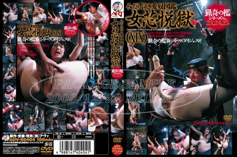 ADV-R0404 Yue Core Prison Woman Crying Slutty Slave Book (19) The Bizarre Cage Series No.23, 24,25